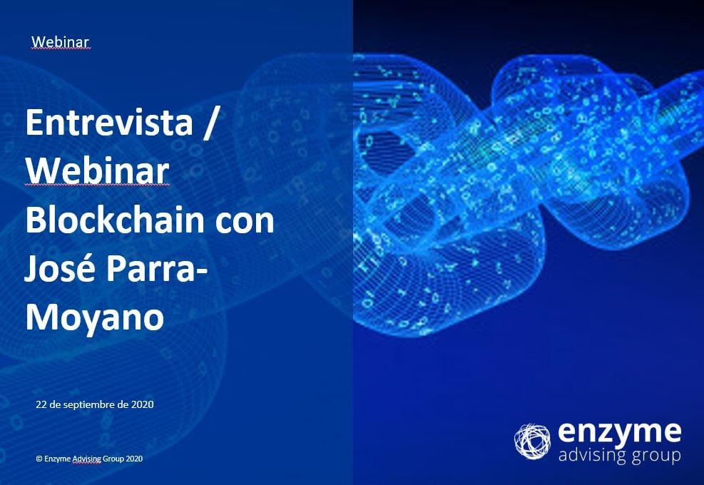 Blockchain - Entrevista a José Parra-Moyano