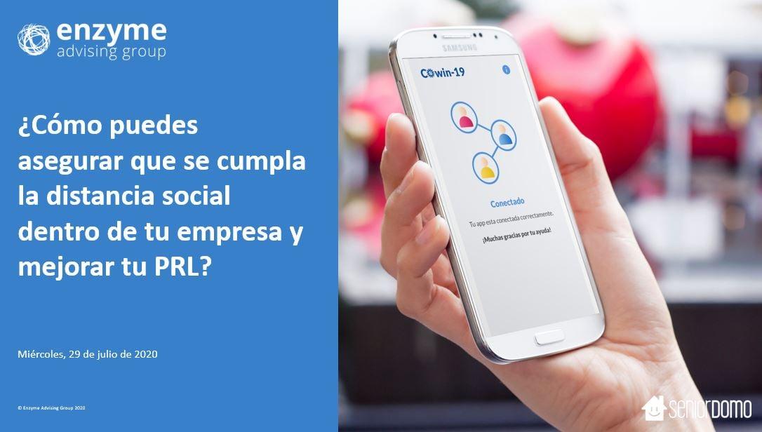 COWIN19 - Cómo puedes asegurar que se cumpla la distancia social dentro de tu empresa y mejorar tu PRL?