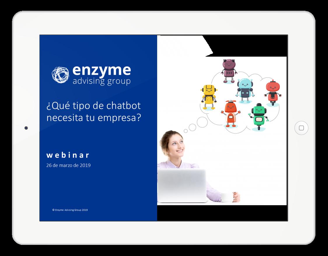 Webinar - ¿Qué tipo de chatbot necesita tu empresa?